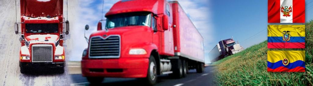 Servicios de transporte internacional de carga puerta a puerta