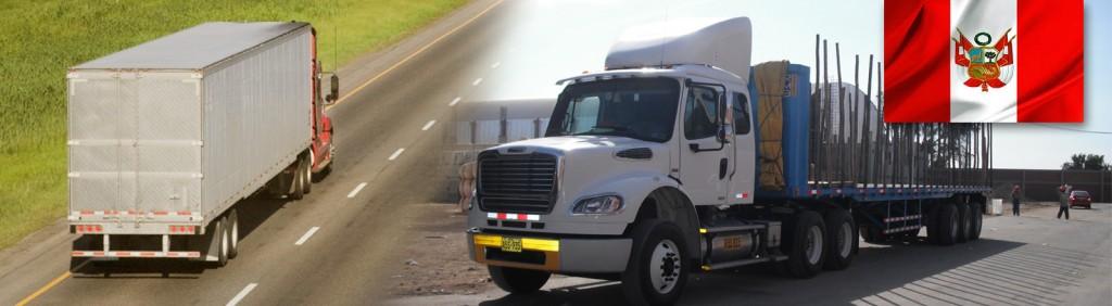 Servicios de transporte nacional carga puerta a puerta